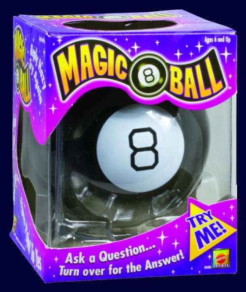 vintage magic 8-ball