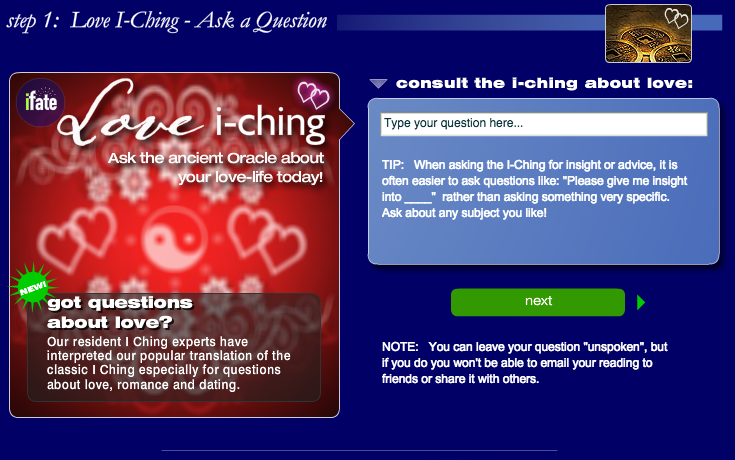 Love I Ching - I Ching Love Readings - iFate com