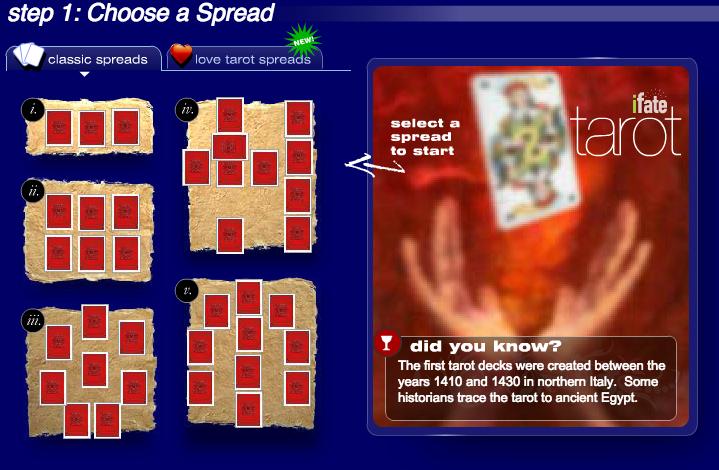 FREE Tarot Reading | iFate com
