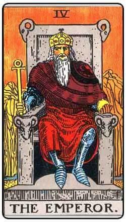 the emperor card represents aries