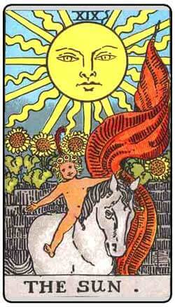 The Sun tarot card and pregnancy